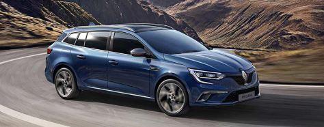 Renault Megane Voorzijde