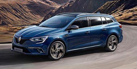 Renault Megane Zijkant