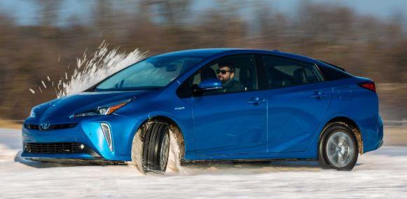 Toyota Prius Zijkant