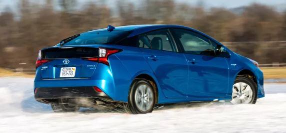 Toyota Prius Achterkant