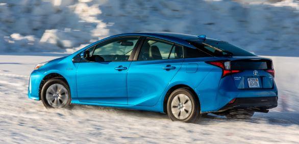 Toyota Prius Zijaanzicht