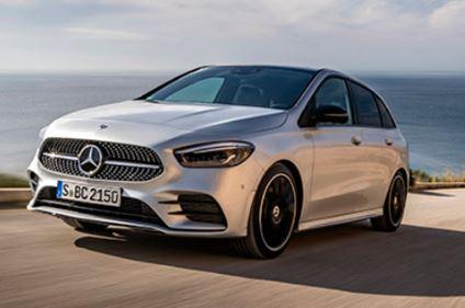 Mercedes B klasse Rijdend