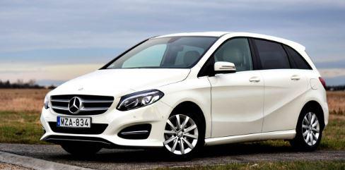 Mercedes B klasse Wit