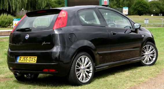 Fiat Punto Achterzijde