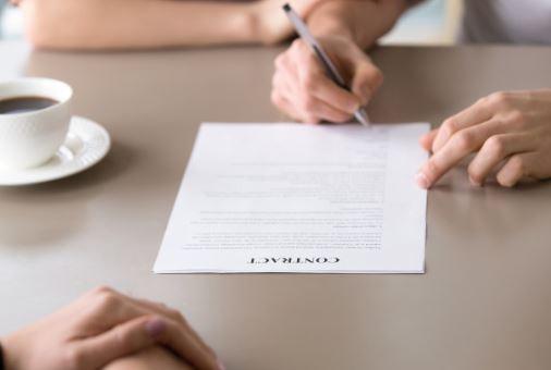 Geldleningsovereenkomst Tekenen