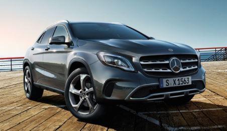 Mercedes GLA Voorzijde