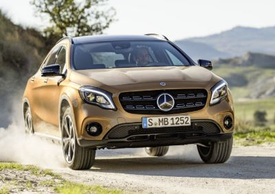 Mercedes GLA Brown