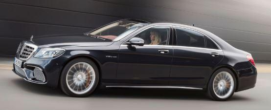 Mercedes S-Klasse Zijkant