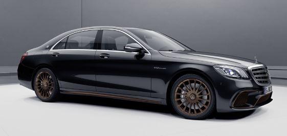 Mercedes S-Klasse Zwart